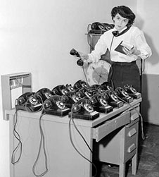 lots of phones new 350 - In The Shed Secretarial Virtual Secretary Services