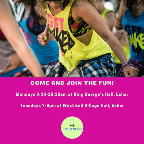 fc fitness timetable - Zumba Classes - FC Fitness